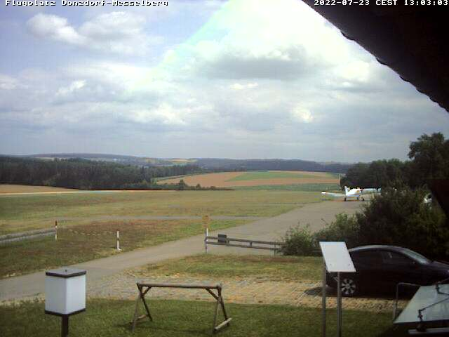 Webcam Flugplatz Donzdorf Messelberg