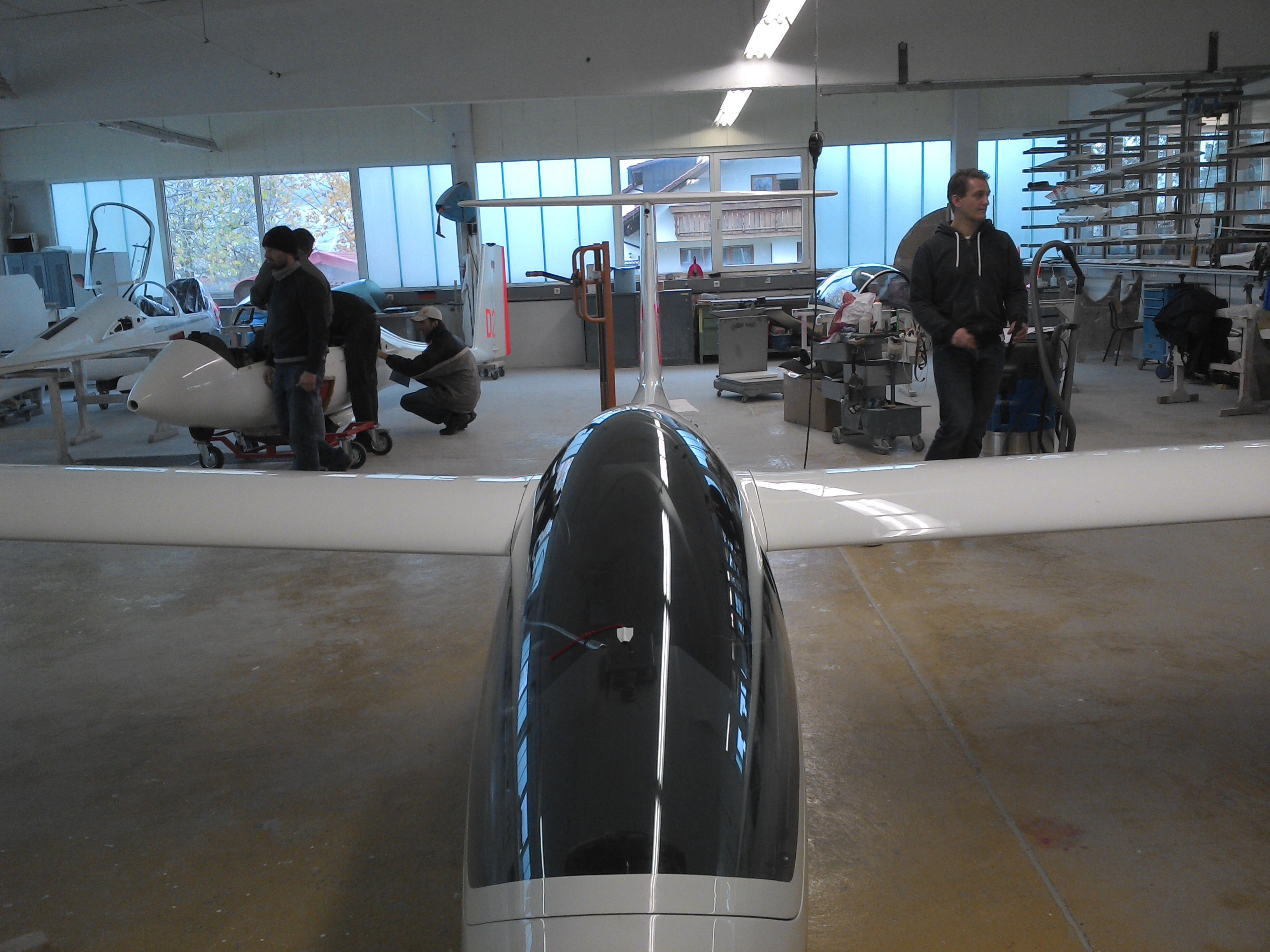 Werkstatt Segelflugzeuge