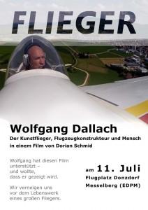 Flieger Plakat