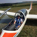 Erster Alleinflug Tim Koch!